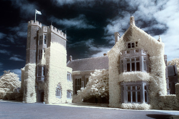 Infrared wedding pictures in colour – first findings