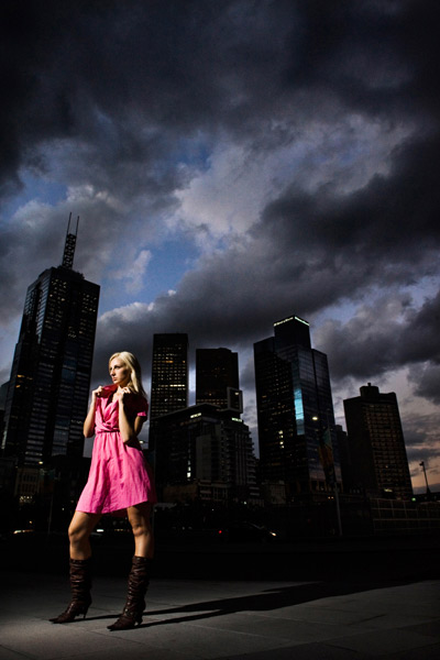 Taken in Melbourne using a Nikon D3, 24 -70mm lens, SU800 and SB800 Speedlight.