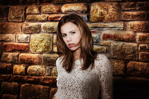 This frame was so simple to shoot it was criminal. I asked Florie for an angry look and she obliged.
