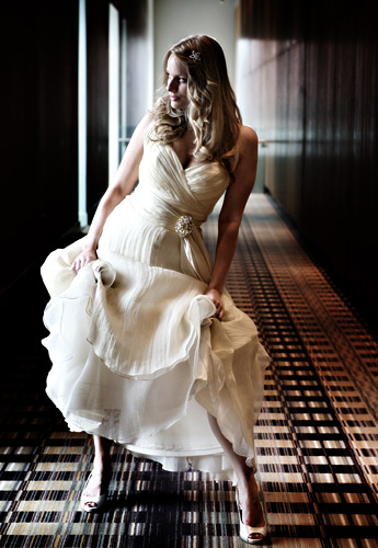 There is so much opportunity in a corridor like this to shoot using natural light, by flash or with tungsten light. Chris
