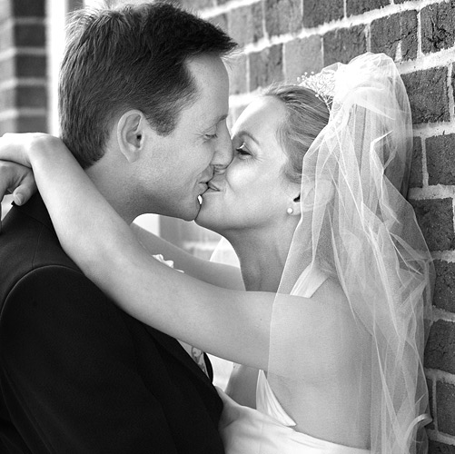 You can't stifle sheer joy. When Julie and I put this shot together back in 2002 we just let the true emotions flow. This couple are still our clients today. Fujifilm S1, ISO 400, 1/800th at f/4