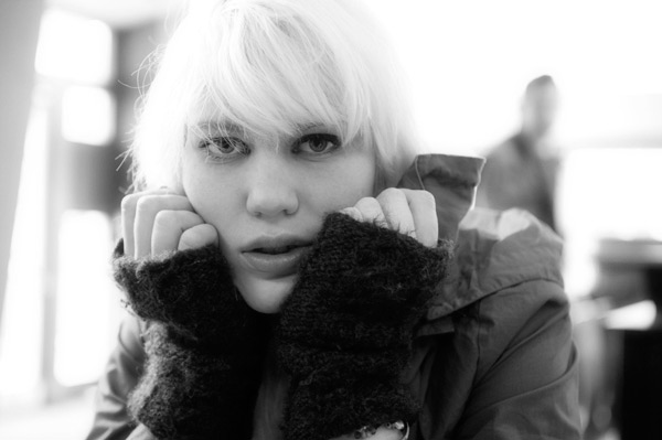 We then went to my usual cafe / restaurant for a spot of lunch and I showed how to shoot 'cafe' portraits.