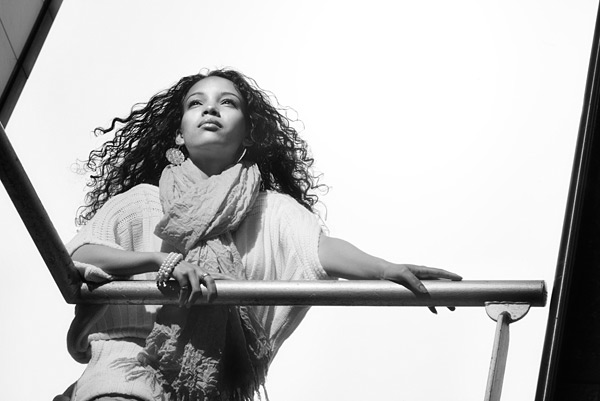 I love this look and I chose to treat it to a black and white treatment. 100mm lens.