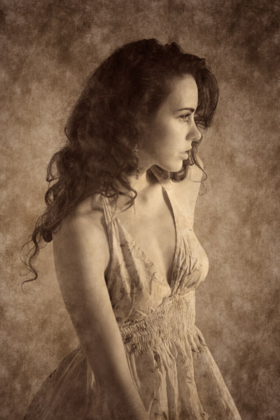 Infra red studio portraits ~ Pictures