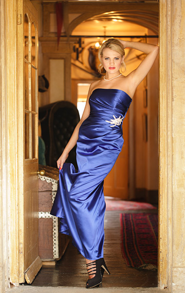15. When shooting a collection don't forget the full length shot. Natural light was perfect in this doorway.