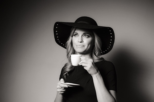 14. Hats, I love hats. We even give our models drinks on the go. Haha.
