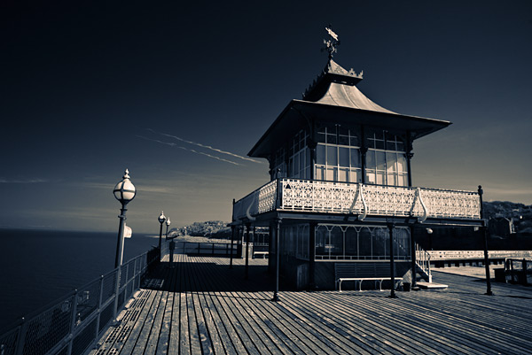 2. We started on the Victorian pier being blown by a constant chilly wind on an otherwise sunny day. This was my first frame taken on my Canon 5D IR camera.