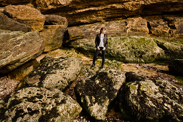 25.The rocks and boulders at Clevedon are fabulous compositional elements.