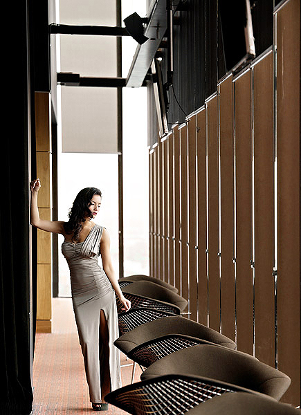 1. a classic cloud 23 shot which works fabulously when there is bright diffuse cloud cover. An elegant pose for a classy cocktail dress