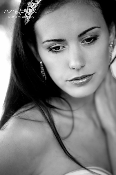 A picture of model Sarah Beaufoy photographed by photographer Martin Hill