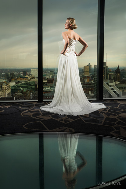 8. The Manchester skyline was underexposed by a couple of stops to make this dramatic shot lit with a pair of Speedlights.