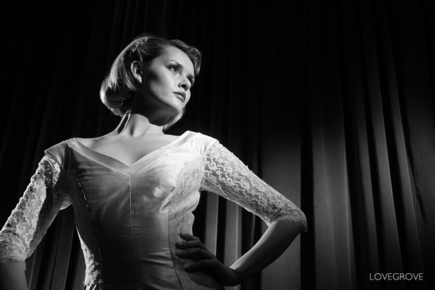 24. With the build up to my Film Noir workshops in full flow I had to show some simple lighting techniques using two Lupolux spotlights.