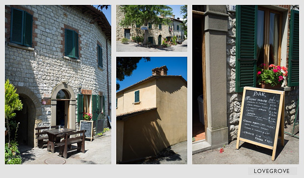 03. San Leo is a classic fortified hill top town offering sleepy back streets to shoot in and a wonderful restaurant where we can enjoy the local Piadinas