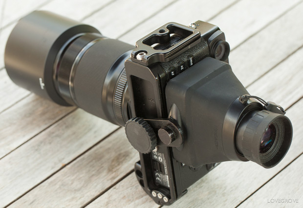 08. A great handling camera and lens with a sumptuous viewfinder and SLR grade handling.
