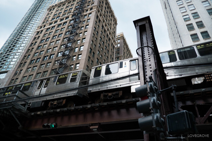 05. The 'L' or Loop in Chicago is simply fabulous. It's such a great experience to be under the line as trains rattle and screech overhead.