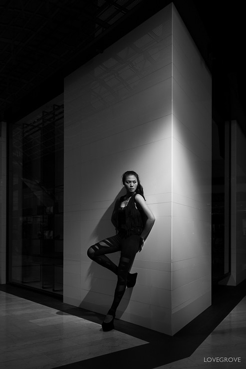 19. Striking portraits and fashion shots can be created with minimal lighting kit with the right know how.
