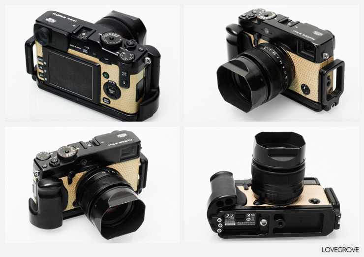 My X-Pro1 has been pimped by the good guys at Fujifilm UK. I am part of an experiment but I can't tell you more than this apparently.