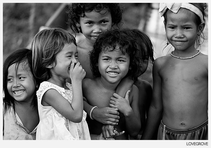 05. Many of the children in Cambodia are rich in true sense of the work. They have no material possessions to their name but have love, fun, friendship and an exciting future.