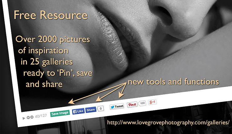 Free inspiration resource gets feature updates