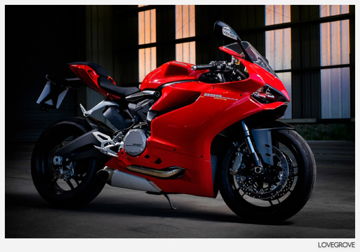 10. A bike shot for the dealer was next up. I lit the bike with a pair of Elinchrom Quadras. I used one with the Rotalux 25cm x 130cm Striplight soft box from the right of shot and my backlight was a Quadra with an 18cm reflector and 30 degree grid. The back light was at 1/4 power (or 100Ws) the key light was at 1/8th power (50Ws). This could have been lit with Speedlights at a push.