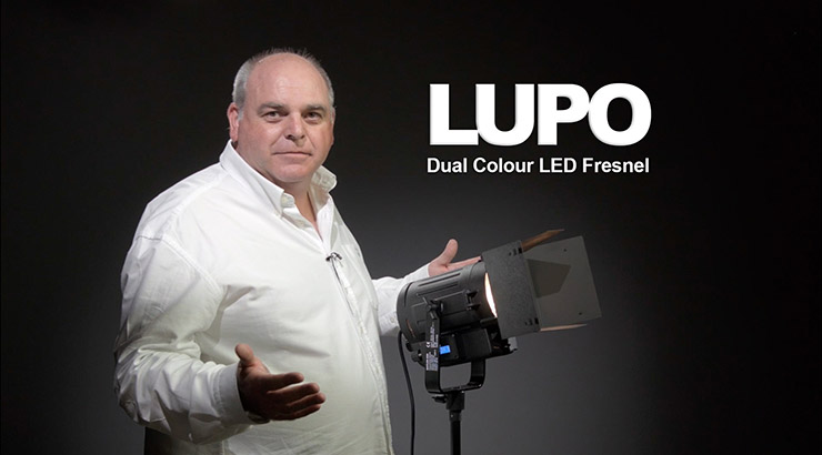 Lupo add dual colour spotlights to their range.