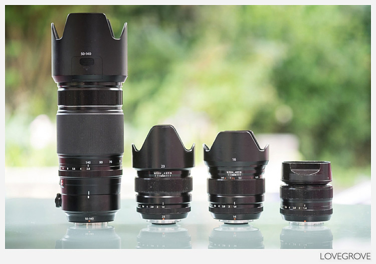 My perfect portrait lens combination for hand held work.