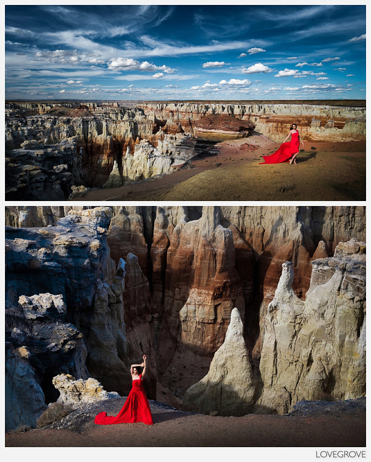 03. A secluded canyon on private land was our location for these striking shots.