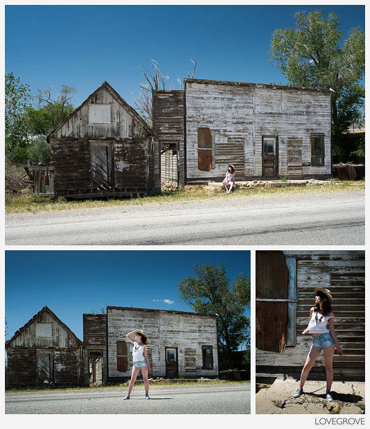 43. A frontage town off the main highway makes a great shoot location.