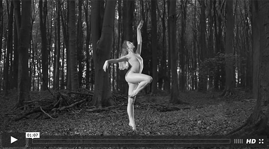 Ballet shot with Fuji X-T2 4k with Acros