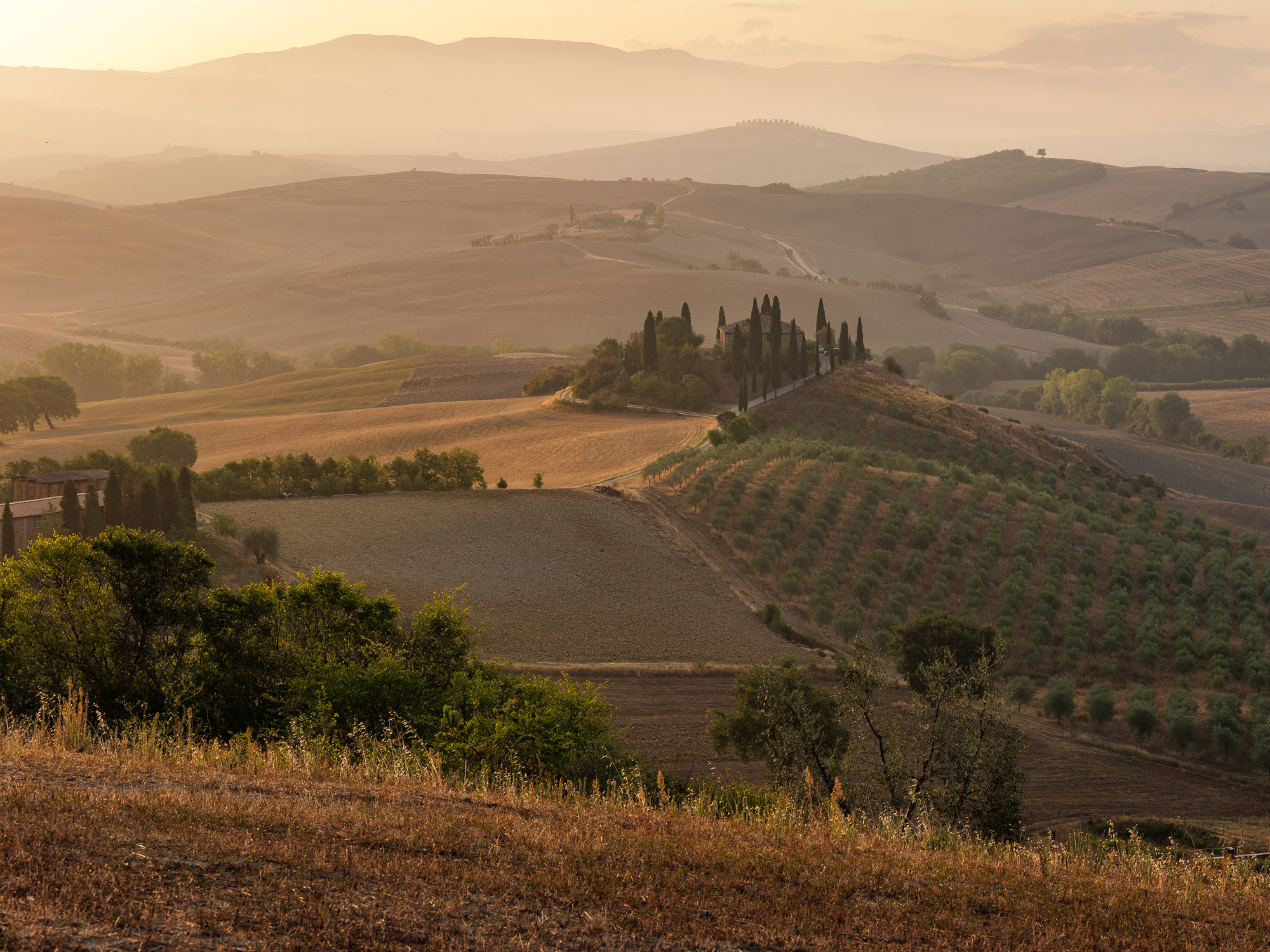 The landscapes of Tuscany