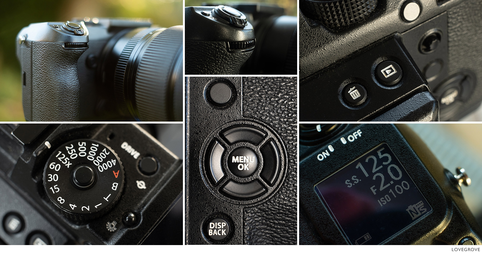 Details of the Fujifilm GFX50s